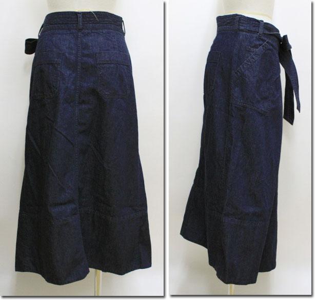 ●JOHNBULL【ジョンブル】 デニムラップスカート AK712