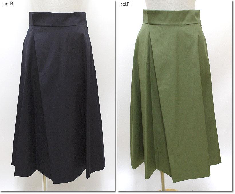 ●Srieee 【シュリ】 フェイクラップロングスカート 04-830020