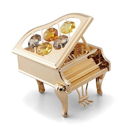 CRYSTOCRAFT ピアノゴールド 発表会記念品大量注文できます ピアノ発表会記念品 ちょっとしたプレゼントに お取り寄せ商品です おすすめ特集 ピアノ発表会 音楽雑貨 バレエ雑貨 ねこ雑貨 記念品 記念品に最適 超人気 音楽会粗品 に最適
