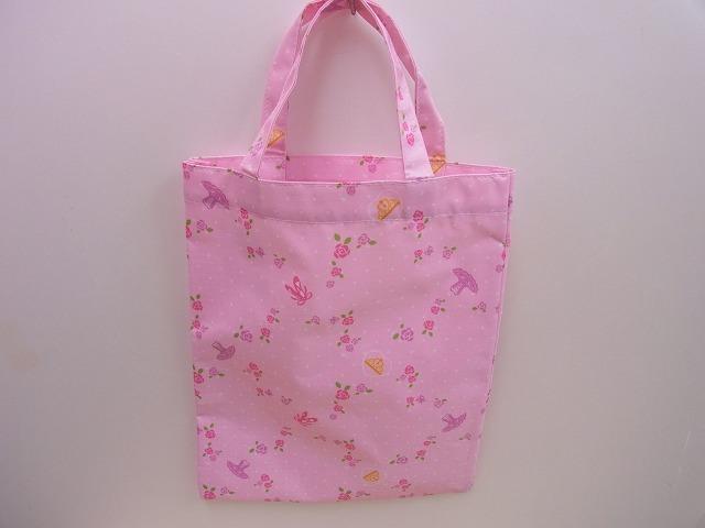 バレエの発表会の記念品にどうぞ ピンクの可愛いバレエトートバッグ 通信販売 お取り寄せ商品です 超激安特価