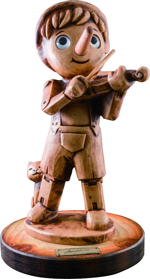 ピノキオ ミュージシャン♪お取り寄せ商品です。♪♪ 【ピアノ発表会 記念品 に最適♪】音楽雑貨 ねこ雑貨 バレエ雑貨 ♪記念品に最適 音楽会粗品