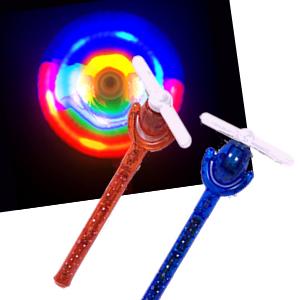 卓抜 光るクルクル風車 お値打ち価格で 単価290円×12入 光るおもちゃ 景品 イベント 子供会 夏祭り 光り物 お祭り 縁日 玩具