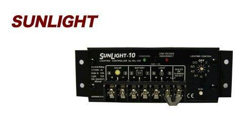 電菱 denryo 太陽電池充放電コントローラー SL-10L-24V