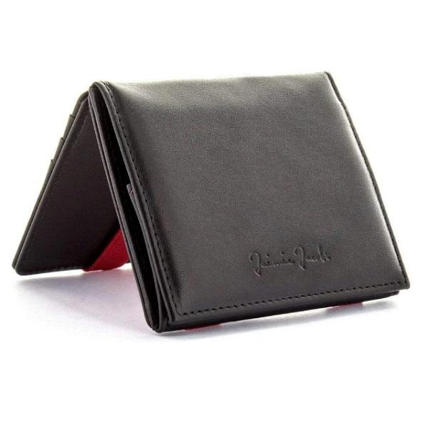 Jaimie Jacobs Flap Boy ジェイミージェイコブス フラップボーイ 黒 赤 black red メンズ 財布 ウォレット 革 レザー 魔法の財布 ハンドメイド 二つ折り スキミング防止 10年保証