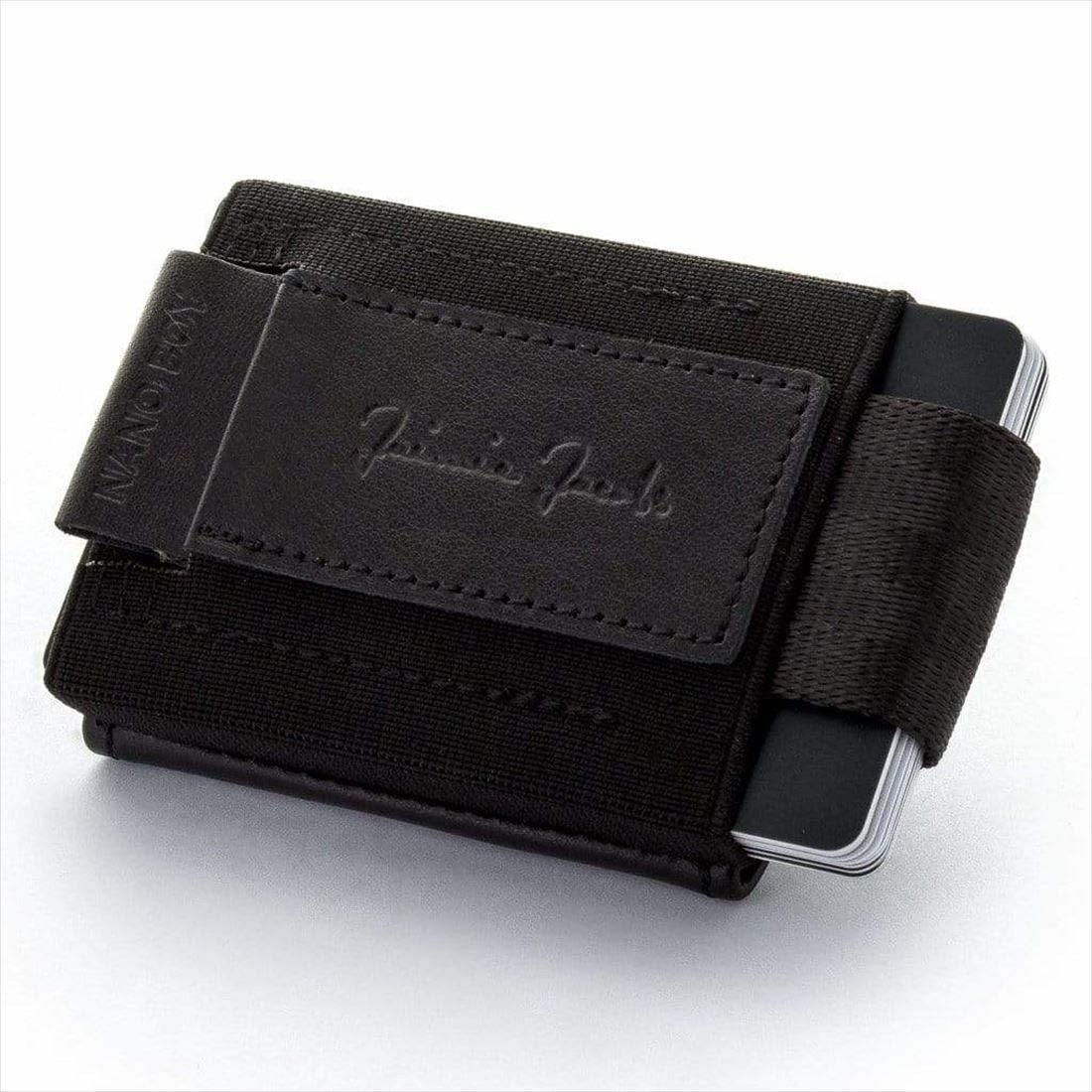 Jaimie Jacobs NANO BOY POCKET コンパクト財布 ( マネークリップ 小銭入れ カードケース ギフトボックス付き) ブラック 正規輸入品