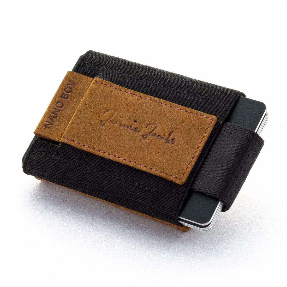 Jaimie Jacobs NANO BOY POCKET コンパクト財布 ( マネークリップ 小銭入れ カードケース ギフトボックス付き) ライトブラウン Buffalo Leather 正規輸入品