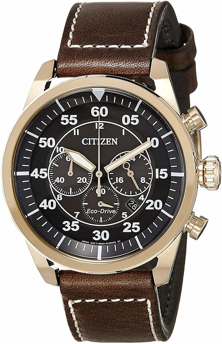 シチズン CITIZEN 腕時計 ウォッチ ECO-DRIVE エコドライブ AVIATOR メンズ CA4213-00E