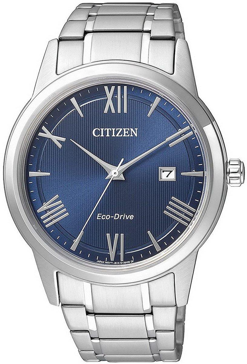 シチズン CITIZEN 腕時計 ウォッチ ECO-DRIVE BLUE DIAL エコドライブ ブルーダイアル メンズ AW1231-58L