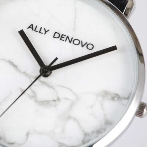 【腕時計】ALLY DENOVO 腕時計 Carrara Marble 40mm シルバー(メンズ・レディース・ウォッチ ウォッチ・プレゼント・AM5010-1)