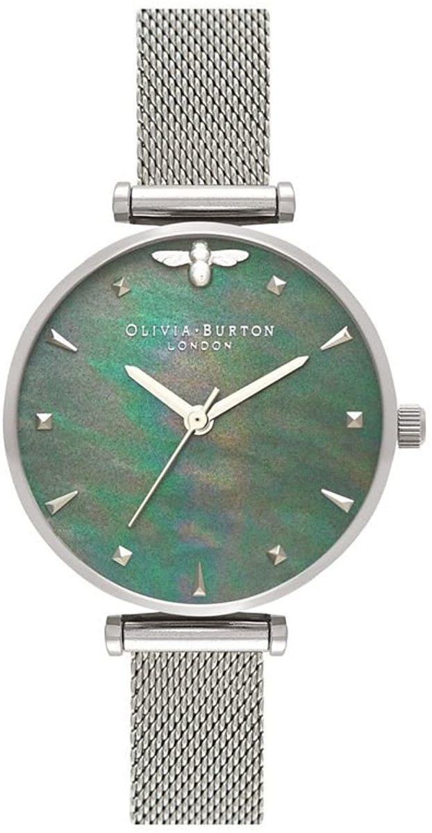 OLIVIA BURTON オリビアバートン 腕時計 メッシュブレス シルバー レディース OB16AM151