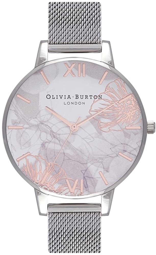 OLIVIA BURTON オリビアバートン 腕時計 メッシュブレス シルバー レディース OB16VM20