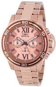 送料込み10代 20代 30代 40代 50代 60代 Invicta インビクタ 腕時計 ゴールド ローズゴールド メンズ 15060 かっこいい カッコイイ オシャレ おしゃれ
