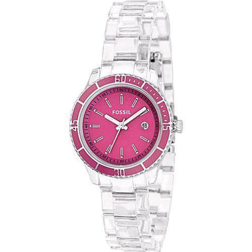 フォッシル FOSSIL 腕時計 ウォッチ レディース ピンク シルバー ES2610