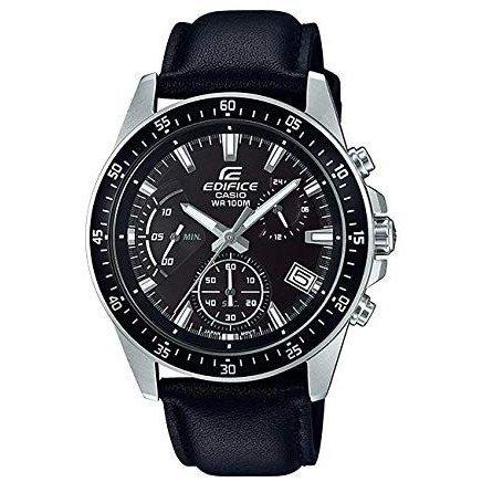 カシオ 腕時計 メンズ エディフィス クロノグラフ ブラック クオーツ EFV-540L-1A CASIO EDIFICE 時計 ウォッチ 並行輸入品