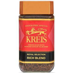 コクと香りを追求した ドイツ クライス社のインスタントコーヒー KREIS インスタントコーヒー ジオグラフィックスペシャル 最新アイテム キャピタルコーヒー ファッション通販 CAPITAL 瓶 100g リッチブレンド