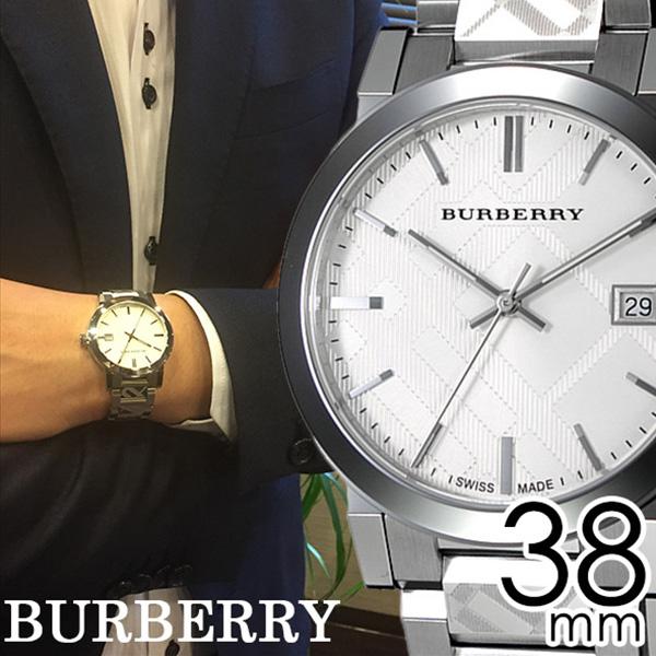 \新春セール中/バーバリー 腕時計 メンズ 男性 [BURBERRY] 時計 シティ ( The City ) シルバー BU9037 [おすすめ ブランド プレゼント ギフト オシャレ メタル ベルト][おしゃれ 腕時計]