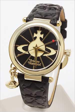 レディース腕時計ブランド ヴィヴィアンウェストウッド腕時計 [VivienneWestwood時計](Vivienne Westwood 腕時計 ヴィヴィアン ウェストウッド 時計) (TIME MACHINE) レディース時計 ブラック VV006BKGD[ギフト プレゼント][おしゃれ 防水 ]