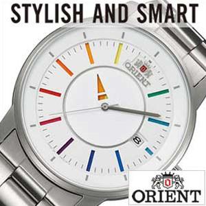 オリエント腕時計 [ORIENT時計](ORIENT 腕時計 オリエント 時計 ) スタイリッシュ アンド スマート ディスク (STYLISH AND SMART DISK ) メンズ時計時計 ホワイト WV0821ER[ギフト プレゼント ご褒美 おしゃれ 腕時計] 誕生日