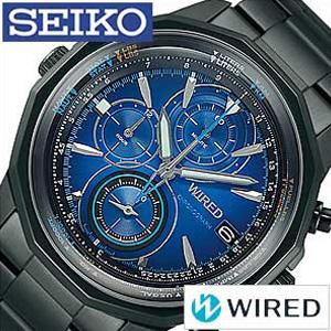 セイコー腕時計 [SEIKO時計](SEIKO 腕時計 セイコー 時計 ) ワイアード ザ ブルー (WIRED THE BLUE ) メンズ腕時計 ブルー AGAW421 [スタンダード 使いやすい お洒落 安心 ギフト プレゼント ご褒美][おしゃれ 腕時計]