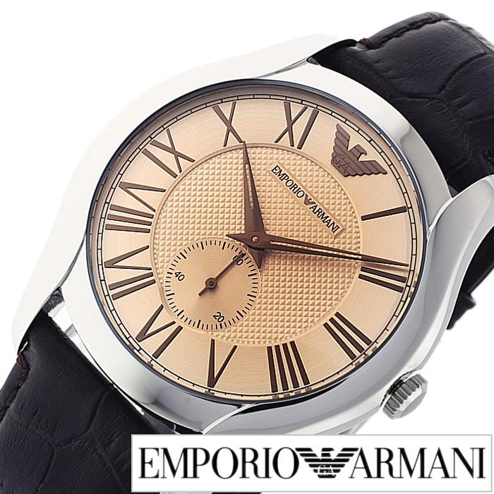 エンポリオアルマーニ腕時計 EMPORIOARMANI時計 EMPORIO ARMANI 腕時計 エンポリオ アルマーニ 時計 メンズ ライトブラウン AR1704 [アナログ ブランド ダークブラウン アルマーニ 時計 ギフト プレゼント ご褒美][おしゃれ 腕時計]