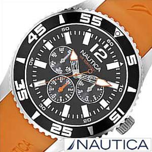 ノーティカ腕時計 NAUTICA時計 NAUTICA 腕時計 ノーティカ 時計 マルチ スポーツ アクティブ NST07 SPORT ACTIVE メンズ ブラック グレー ホワイト A12023G [アナログ オレンジ ギフト プレゼント ご褒美][ おしゃれ ブランド ]