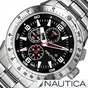 ノーティカ腕時計 NAUTICA時計 NAUTICA 腕時計 ノーティカ 時計 NST101 メンズ ブラック ホワイト A21522G [アナログ シルバー ギフト プレゼント ご褒美][ おしゃれ ブランド ]