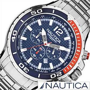 ノーティカ腕時計 NAUTICA時計 NAUTICA 腕時計 ノーティカ 時計 スポーツ ダイバーズ NST02 SPORT DIVERS メンズ ネイビー ホワイト A26535G [アナログ シルバー ギフト プレゼント ご褒美][ おしゃれ ブランド ]