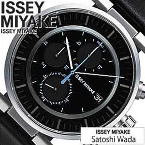 イッセイミヤケ腕時計 ISSEYMIYAKE時計 ISSEY MIYAKE 腕時計 イッセイミヤケ 時計 ダブリュー (W) ブラック SILAY009 [和田智 デザイン 人気 アイコン ギフト プレゼント ご褒美]