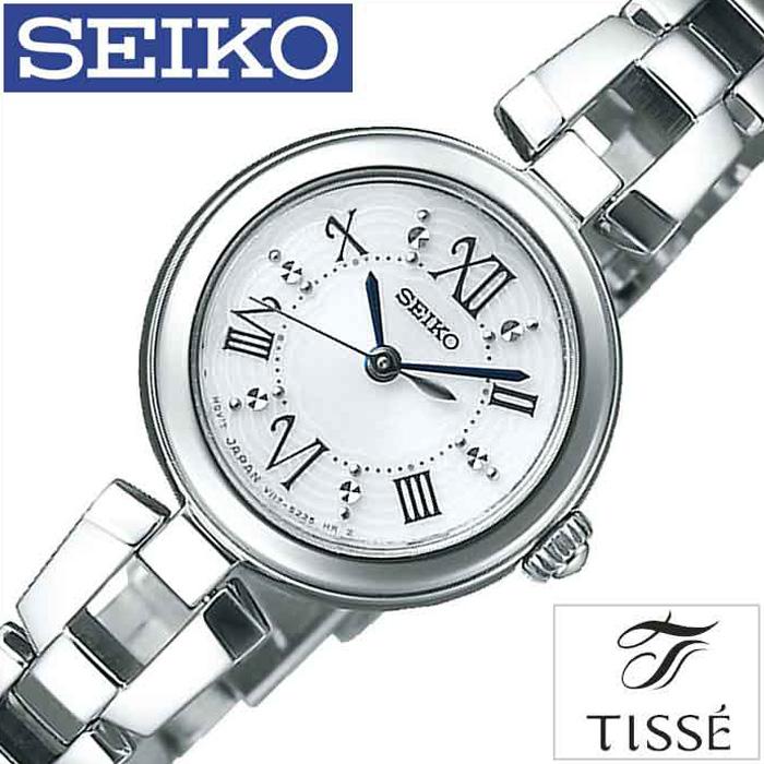 セイコー時計 SEIKO腕時計 SEIKO 時計 セイコー 腕時計 ティセ TISSE レディース ホワイト SWFA151 [ 正規品 人気 デザイン ファッション ギフト プレゼント ご褒美 おしゃれ ] 誕生日