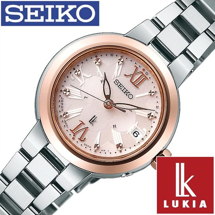 [SALE](16800円引き 割引き セール )セイコー ルキア 腕時計 [ルキア 時計 LUKIA 時計] セイコー腕時計 [ルキア時計]SEIKO 腕時計 (セイコールキア 時計)ルキア(LUKIA)レディース ピンク SSVW068[マスコミモデル ソーラー電波 ピンクゴールド ギフト 入学プレゼント ギフト]
