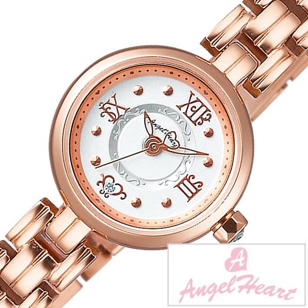 エンジェルハート 腕時計 [AngelHeart 腕時計] エンジェル ハート 時計 [Angel Heart 時計 AngelHeart腕時計]トゥウィンクルハート Twinkle Heart レディース ホワイト NT20PGR [ピンクゴールド メタルベルト][ おしゃれ 防水 プレゼント ギフト ]