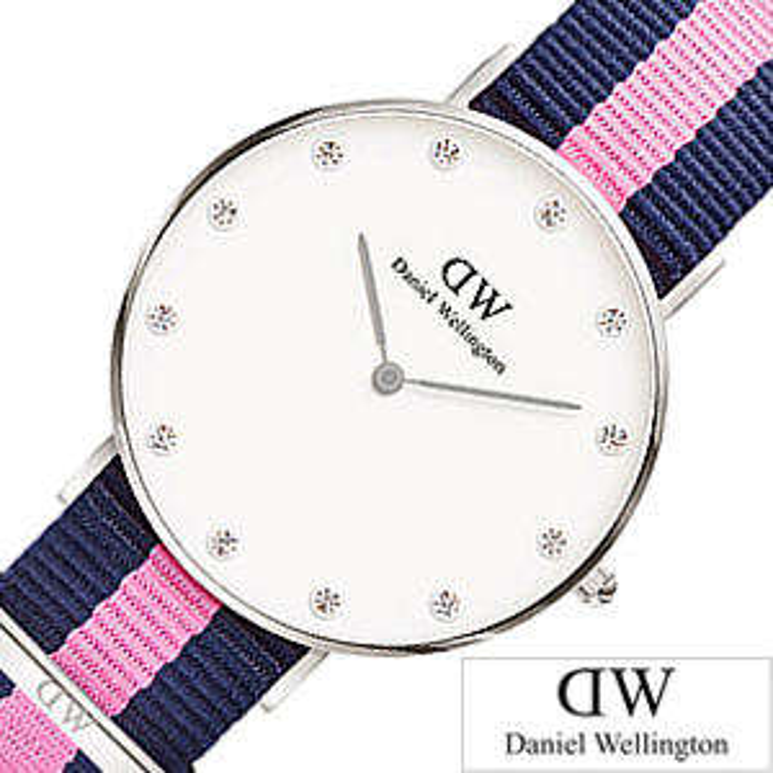 [あす楽]ダニエルウェリントン 腕時計 DanielWellington 時計 ダニエル ウェリントン 時計 Daniel Wellington 腕時計 クラシック ウィンチェスター シルバー CLASSIC 34mm 0962DW [北欧 人気 おしゃれ ブランド プレゼント ギフト ] 誕生日