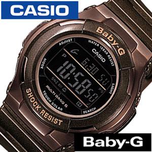 カシオ腕時計 CASIO時計 CASIO 腕時計 カシオ 時計 ベイビーG BABY-G レディース ブラック BGD-1310-5JF [デジタル タフ ソーラー 電波 時計 液晶 防水 ブラウン グレー ベビーG ギフト プレゼント ご褒美][おしゃれ 腕時計]