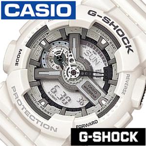 [あす楽]Gショック 白 Gshock ジ-ショック g-shock G-ショック 腕時計 時計 GA-110C-7AJF メンズ グレー[アナデジ デジタル 液晶 ホワイト ブラック スポーツウォッチ トレーニング 登山 マラソン ランニング 陸上競技 ジム] 誕生日