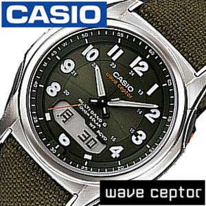 あす楽・敬老の日 腕時計 送料無料 カシオ 国内正規品 クロスバンド WVA-M630B-1AJF 電波タフソーラー マルチバンド6 WAVE CEPTOR CASIO