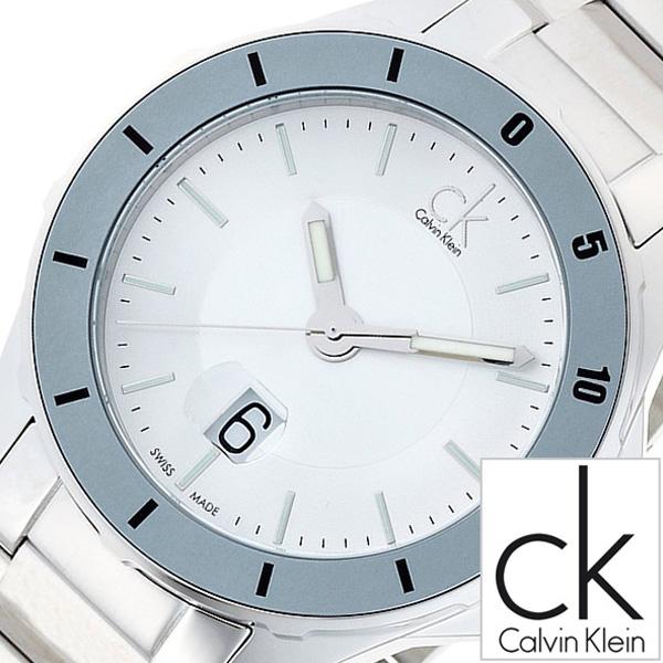 カルバンクライン腕時計 CalvinKlein時計 Calvin Klein 腕時計 カルバン クライン 時計 プレイ Play メンズ シルバー K2W21Y46 [アナログ 防水 グレー ホワイト ck シーケー ビジネス スイス 製 ギフト プレゼント ご褒美][ おしゃれ ブランド ]