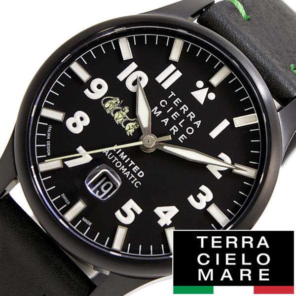 テラチェロマーレ腕時計 (TERRA CIELO MARE 腕時計 テッラ チェロマーレ 時計 )[テラチェロマーレ TCM] アヴィアトーレ マーク ツー リミテッド AVIATORE LIMITED メンズ TC7103LIM3PA [革 機械式 自動巻 人気 おしゃれ ブランド プレゼント ギフト ]