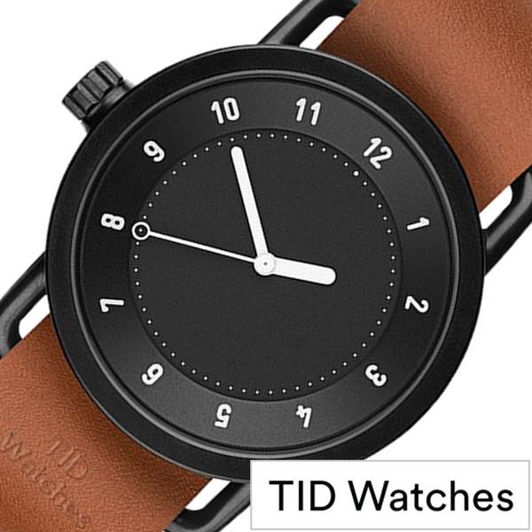 [当日出荷] [ティッドウォッチズ]ティッドウォッチ 腕時計[TIDWatches 時計]ティッド ウォッチ 時計[TID Watches 腕時計] TIDNo. 1 TID01-BK-T [新作 ブランド 人気 革ベルト おしゃれ 防水 北欧 アナログ ブラウン インスタ 通販 プレゼント ギフト 社会人]