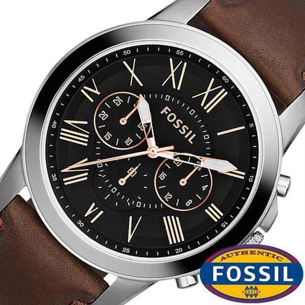 フォッシル腕時計 腕時計 フォッシル時計 [FOSSIL 腕時計] 時計 [FOSSIL腕時計] [FOSSIL時計] フォッシル [新作 人気 流行 ブランド 防水 レザー] メンズ [FOSSIL 時計] [おしゃれ 腕時計] ブルー GRANT グラント フォッシル FS5061