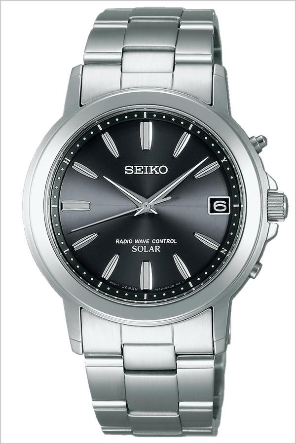 セイコー腕時計 SEIKO時計 SEIKO 腕時計 セイコー 時計 スピリット SPIRIT メンズ ブラック SBTM169 [メタル ベルト 正規品 ソーラー電波 限定 防水 シルバー シンプル][ギフト プレゼント ご褒美][おしゃれ 腕時計]