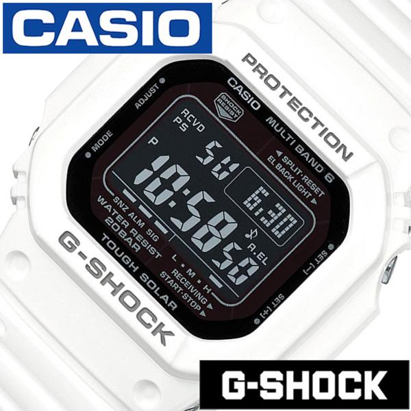 Gショック 白 Gshock g-shock G-ショック 腕時計 時計 メンズ ブラック GW-M5610MD-7JF[デジタル タフ ソーラー 電波 時計 ストップ ウォッチ ホワイト スポーツウォッチ トレーニング 登山 マラソン ランニング 陸上競技 ジム][ プレゼント ギフト]