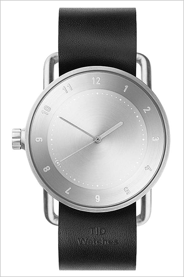[ティッドウォッチズ]ティッドウォッチ 腕時計[TIDWatches 時計]ティッド ウォッチ 時計[TID Watches 腕時計] TIDNo. 2 レディース シルバー TID02-SV36-BK [革 ベルト おしゃれ 正規品 替え 北欧 アナログ ブラック シルバー 通販][社会人]