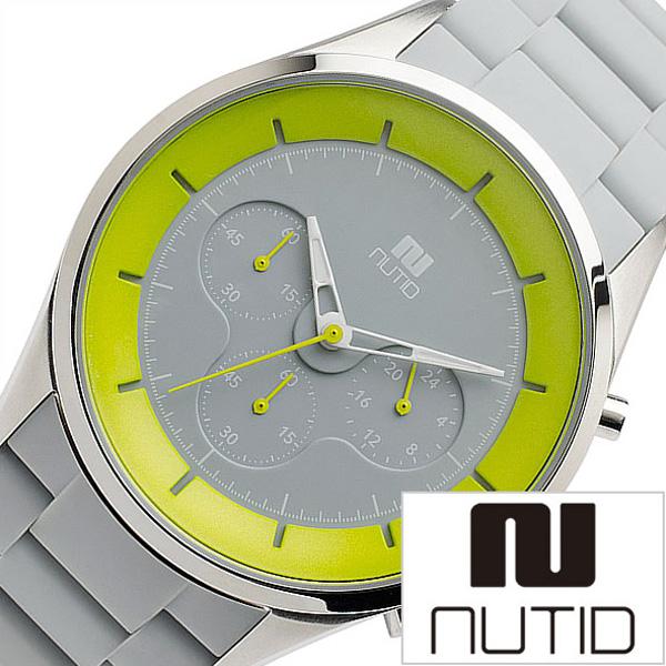 ヌーティッド 腕時計[NUTID 時計]ヌーティッド 時計[NUTID 腕時計]クレーター CRATER メンズ グレー 1404P-D[ 正規品 デザイナーズウォッチ デザイン 人気 ブランド 防水 シリコン 夏 おすすめ ラバー ステンレス イエロー プレゼント ギフト]