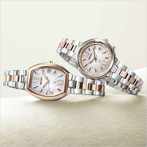 セイコー ルキア 腕時計 レディース ソーラー 電波 セイコー腕時計 SEIKO時計 SEIKO 腕時計 LUKIA ホワイト SSQW028 [メタル ベルト 正規品 防水 マスコミ モデル チタン シルバー][ギフト プレゼント ご褒美][おしゃれ 腕時計]