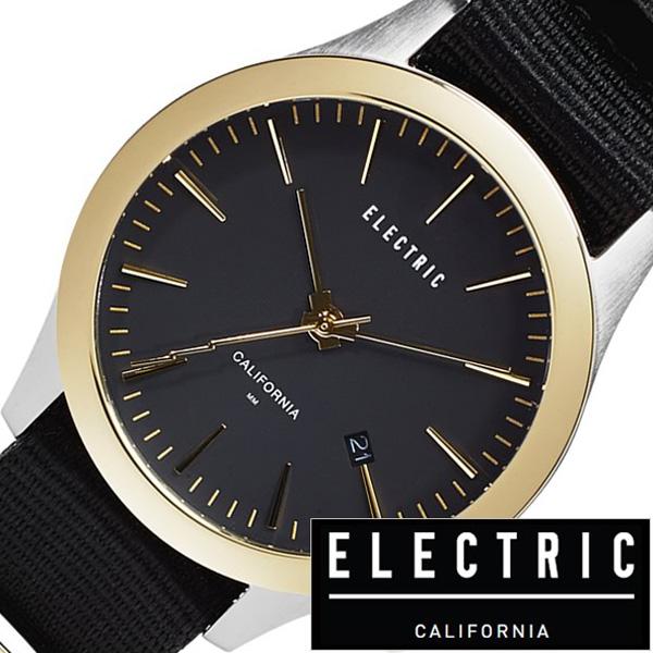 エレクトリック 腕時計 ELECTRIC時計 ELECTRIC 腕時計 エレクトリック 時計 FW03 NATO メンズ レディース ブラック FW3N2-BKGD [ 正規品 人気 新作 ブランド トレンド ポリエステル シンプル ゴールド シルバー 入学式 新作 最新 人気 ブランド]