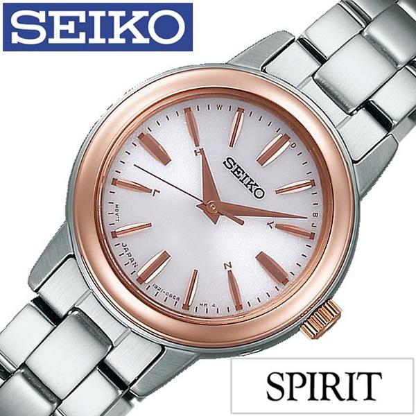 セイコー腕時計 [SEIKO時計](SEIKO 腕時計 セイコー 時計) スピリット スマート (SPIRIT SMART) レディース 腕時計 ピンク SSDY018 [人気 ブランド トレンド メタル ベルト シンプル かわいい ピンクゴールド シルバー][ プレゼント ギフト][おしゃれ]