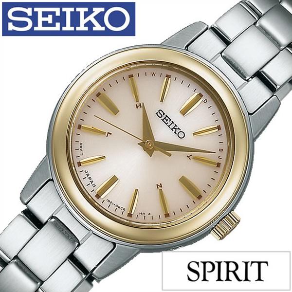 ソーラー セイコー腕時計 [SEIKO時計](SEIKO 腕時計 セイコー 時計) スピリット スマート (SPIRIT SMART) レディース 腕時計 ゴールド SSDY020 [人気 ブランド トレンド メタル ベルト シンプル かわいい シルバー おしゃれ] 誕生日
