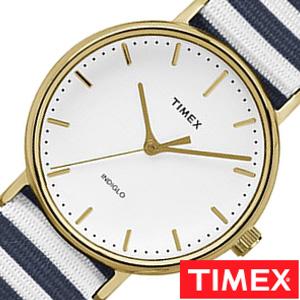 【SALE】(30%OFF) 割引 セール 安い タイメックス腕時計 TIMEX時計 TIMEX 腕時計 タイメックス 時計 ウィークエンダー フェアフィールド Weekender Fairfield 37mm メンズ 白 TW2P91900[ 正規品 NATO ナトー 新品 シンプル ブルー 白 縞 模様 おしゃれ ブランド ] 誕生日