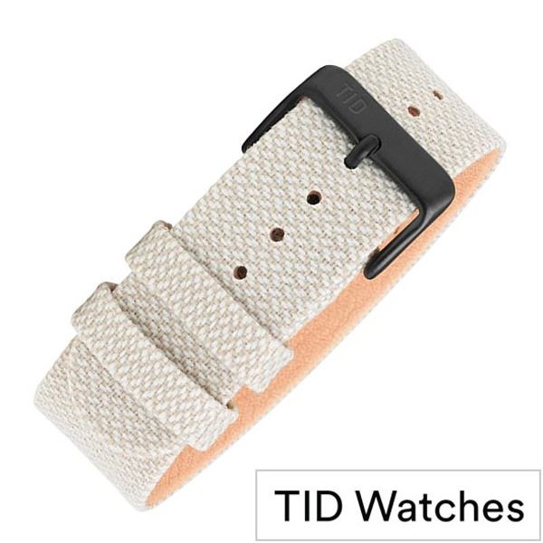 ティッドウォッチズ 時計ベルト[TIDWatches]ティッド ウォッチズ[TID Watches 腕時計ベルト]クヴァドラ Kvadrat Twain wristbands メンズ レディース TID-BELT-SAND[交換用 替えベルト 付け替え 交換 腕時計 革 レザー ストラップ バンド ブランド プレゼント ギフト]