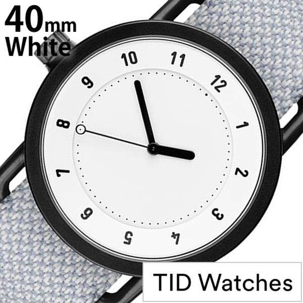 [当日出荷] ティッドウォッチズ 腕時計 メンズ レディース [TID watches] ホワイト TID01-WH40-MINERAL [No.1 正規品 おしゃれ 北欧 シンプル 革 レザー バンド ホワイト ギフト プレゼント ギフト おしゃれ腕時計 社会人] 誕生日
